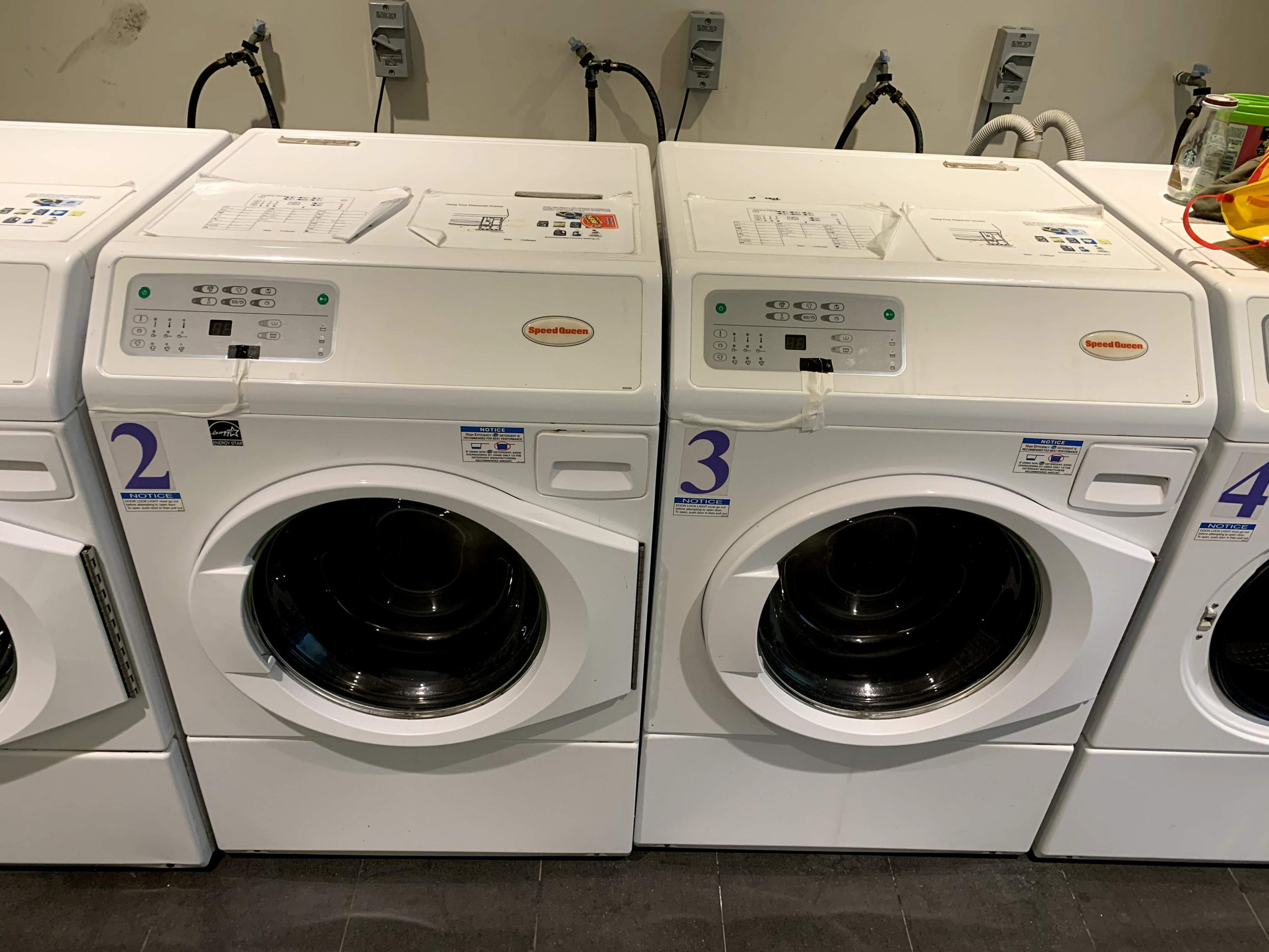 Building the Yale-NUS Smart Laundry System