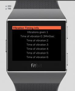 Geometric distribution Fitbit app bug